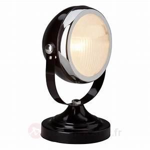 Lampe A Poser Noire : catgorie lampe de chevet du guide et comparateur d 39 achat ~ Teatrodelosmanantiales.com Idées de Décoration