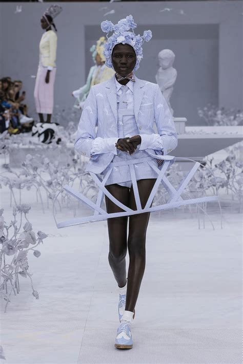 thom browne spring summer  womens collection