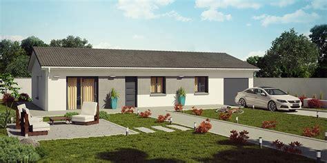 maison simple et moderne demeures caladoises collection madura moderne maison de plain pied