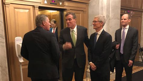 tim cook successfully lobbied white house to help apple