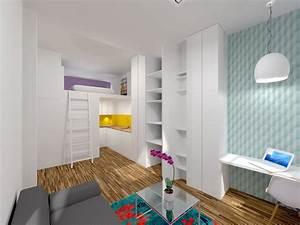 Studio Mezzanine Paris : ancienne loge de gardien transform e en studio mezzanine ~ Zukunftsfamilie.com Idées de Décoration