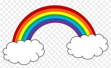 rainbow clipart free clip on rainbow