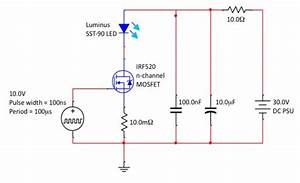 High Power Pulsed Led Driving Circuit