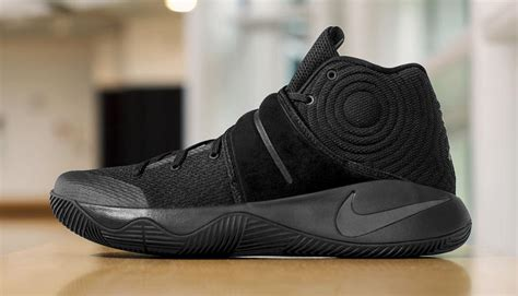 nike kyrie  triple black sole collector
