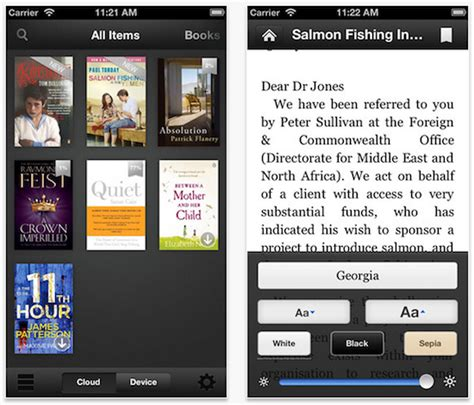 how to access audiobooks on iphone updates kindle app with new accessibility features