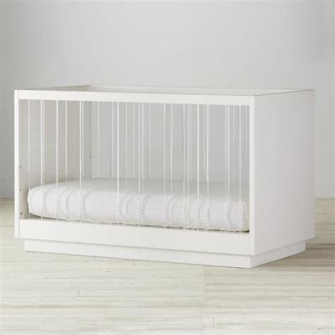 see through crib white acrylic see through construction crib