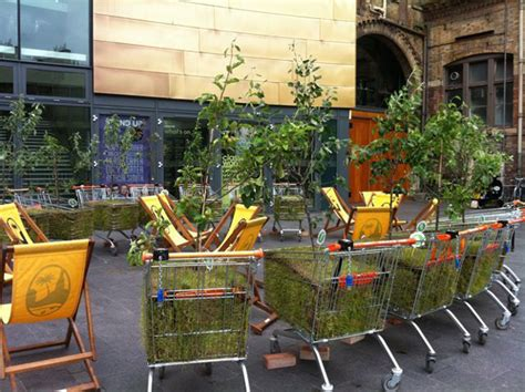 pop up garden pop up mobile forest sows seeds of change