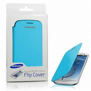 Genuine Samsung Galaxy S3 Mini Leather Flip Case EFC ...
