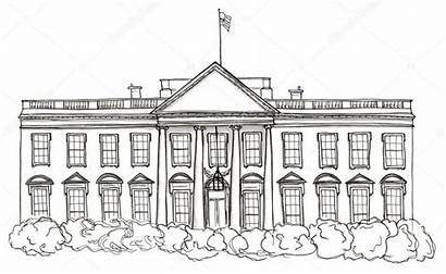 Coloring Pages Palace Buckingham Colouring Sketch Template