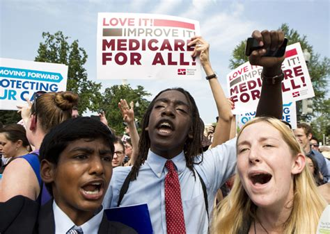 Democratic senators join up to embrace single-payer by co