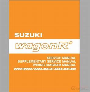 Suzuki - Wagon R Shop Manual