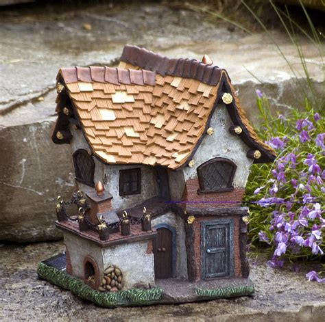 miniature dollhouse garden tudor crooked creations