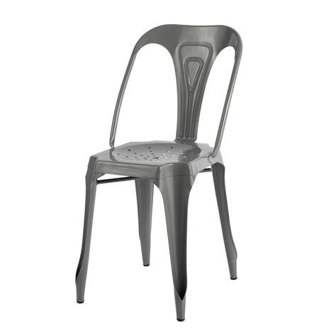 chaise indus chaise indus en métal multipl 39 s maisons du monde