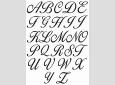 Collection of 25+ Lettering Cursive Fonts Tattoo Designs