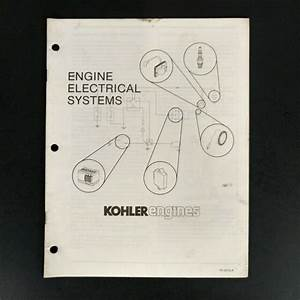 Kohler Engines Electrical Systems Guide Manual Lawn Garden