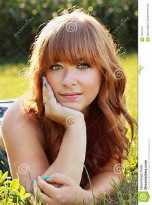 Beautiful Red Hair Girl Stock Photos Image 15879473