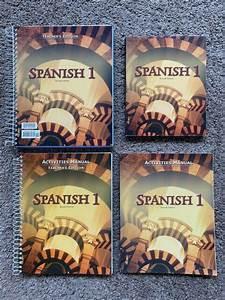Bju Bob Jones Spanish 1  2nd Edition  Teacher  Student