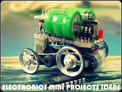 Electronics Mini Projects Ideas For Engineering