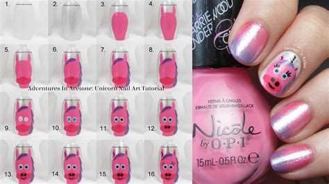 Nail Art Tutorial : Adventures In Acetone