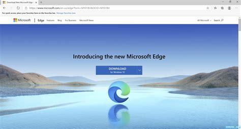 Download Microsoft Edge for Windows 10/8/7 (Latest version ...