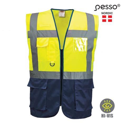 Pesso Augstas redzamības veste - Atstarojošās vestes - Darba apģērbu katalogs - Ļoti plašs ...