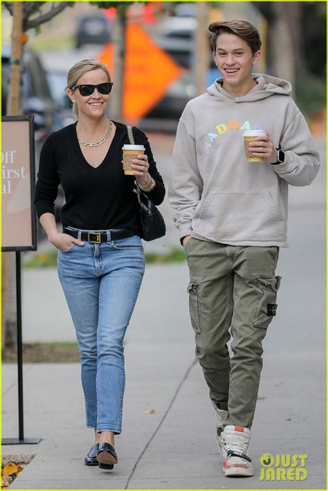 reese witherspoon son deacon   smiles  lunch