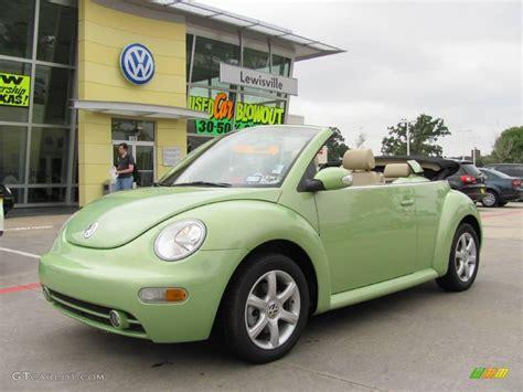 volkswagen green 2004 cyber green metallic volkswagen new beetle gls 1 8t