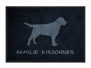 Fußmatte Mit Namen : fu matte hund mit namen personalisiert mit namen mattilde die matte mit pfiff ~ Frokenaadalensverden.com Haus und Dekorationen
