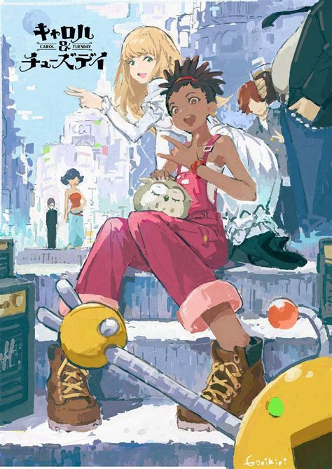 Carole & tuesday by netflix. Carole And Tuesday Wallpapers - Top Free Carole And Tuesday Backgrounds - WallpaperAccess