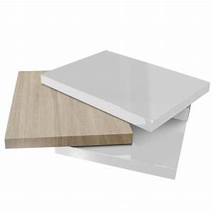 Table Basse Blanc Bois : 49 tables basses designs ~ Teatrodelosmanantiales.com Idées de Décoration