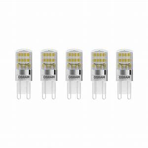 Gu9 Led Dimmbar : 5er pack osram led base pin 20 g9 300 2700k 1 9w wie 20w ~ Buech-reservation.com Haus und Dekorationen
