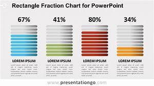 Rectangle Fraction Chart For Powerpoint