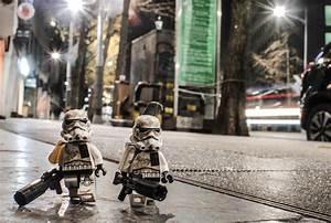 Lego, Stormtroopers, On, U0026quot, Night, Patrol, U0026quot, By, Jon, San, Pedro