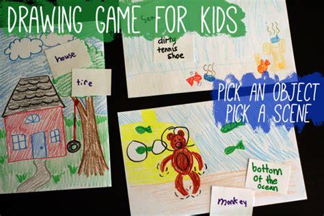 drawing game  kids pick  object pick  scene