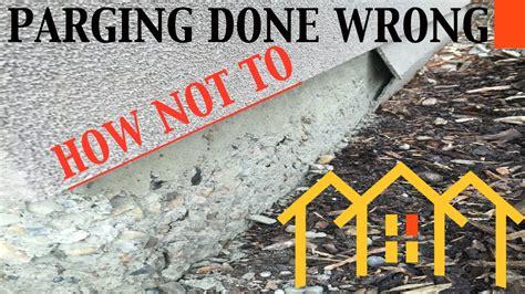 concrete wall repair calgary stucco parging repair