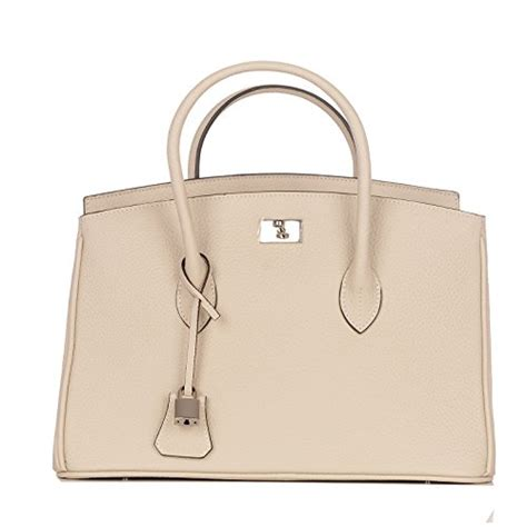 rouven craie white polonais silver grace 35 tote bag sac fourre tout sac en cuir pleine
