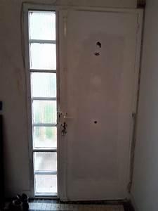Porte D Entrée Tiercée : remplacement d 39 une porte d 39 entr e avec tierce 30cm par une ~ Carolinahurricanesstore.com Idées de Décoration