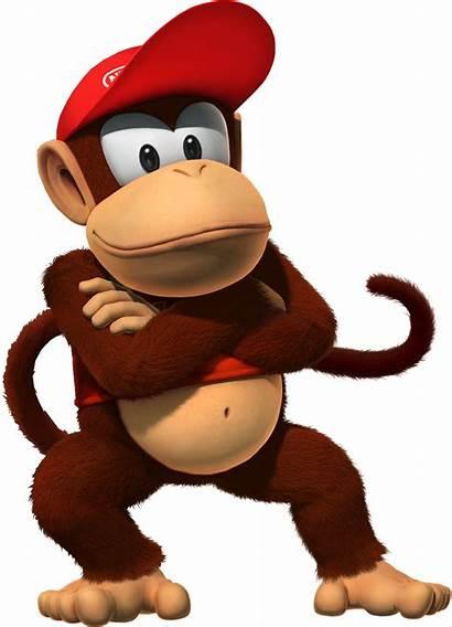 Kong Donkey Characters Country Diddy Cartoon Main