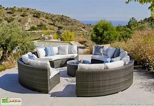 Salon Exterieur Design : salon de jardin exterieur resine meuble de terrasse pas cher maison email ~ Teatrodelosmanantiales.com Idées de Décoration