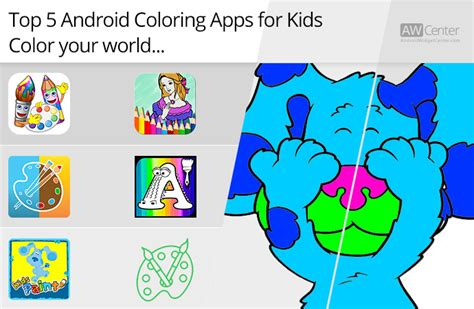 top  android coloring apps  kids color  world