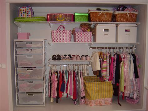 Closet Organizers :  Kids' Room Project