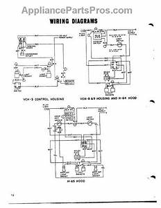 Parts For Thermador H-65  Wiring Diagram Parts