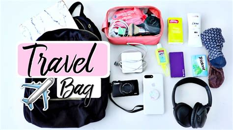 what s in my carry on travel tips essentials