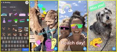 Snapchat App Stickers Giphy Android Police Applications