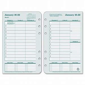 franklin covey original planner refill ld products With franklin covey planner templates