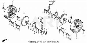 Honda Hrb216 Txaa Lawn Mower  Usa  Vin  Maaa