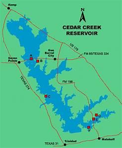 Alabama Depth Chart Clickable Map Of Lake