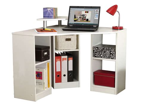 bureau conforama blanc bureau d 39 angle corner coloris blanc vente de bureau