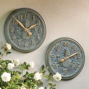 Decorative Outdoor Clock And Thermometer Set  Foter. Decorative Kitchen Tiles. Halloween Wedding Decorations. Reno Hotel Rooms. 40th Birthday Centerpiece Decorations. Virtual Paint Your Room. Decorative Glass Panels. Monthly Hotel Rooms. Peacock Bedroom Decor Ideas