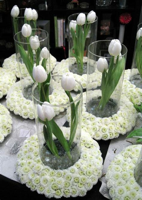 tolle ideen fuer tischdeko mit tulpen archzinenet